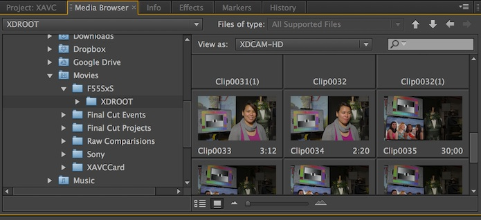 How to Import F5/F55 Footage in FCP, Avid and Premiere | Tutorials