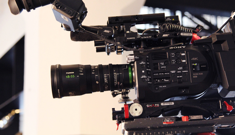 Sony FS7 Behind The Lens