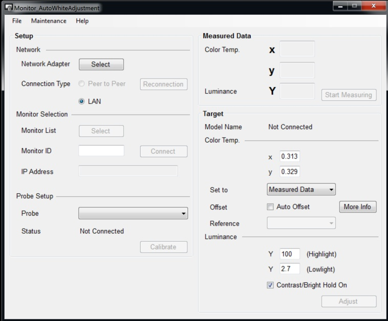 How to Auto White Balance Your Sony Monitor | Tutorials