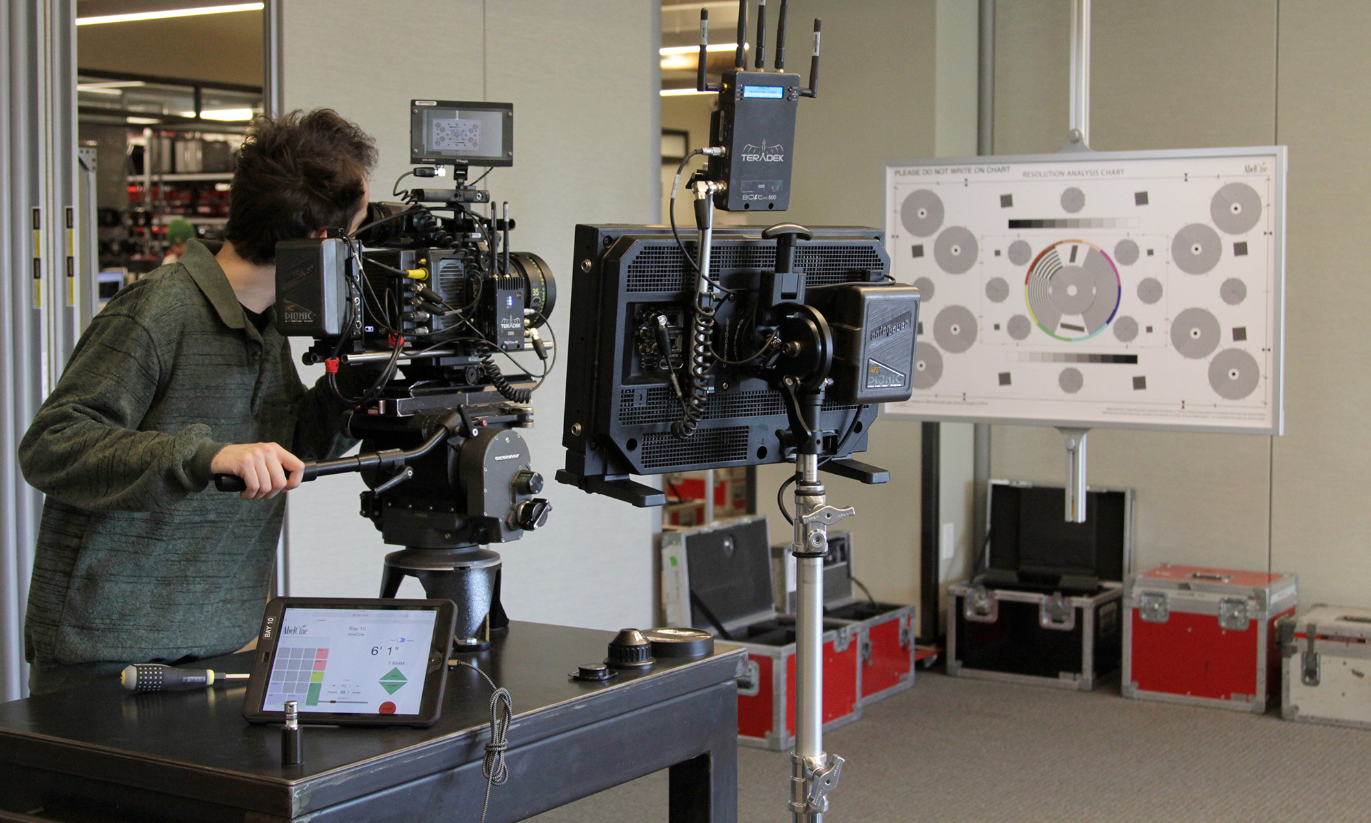 CameoGear Analysis System - Rental Checkout at AbelCine NY