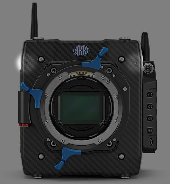 ALEXA Mini LF - Scratch Audio Mics