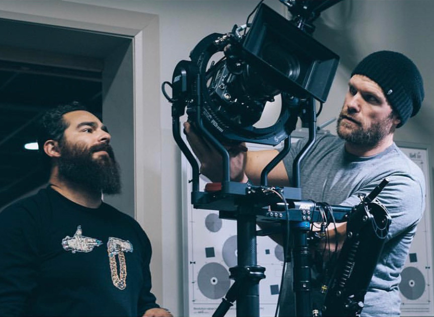 Andrew Theiss with the ARRI Trinity at AbelCine