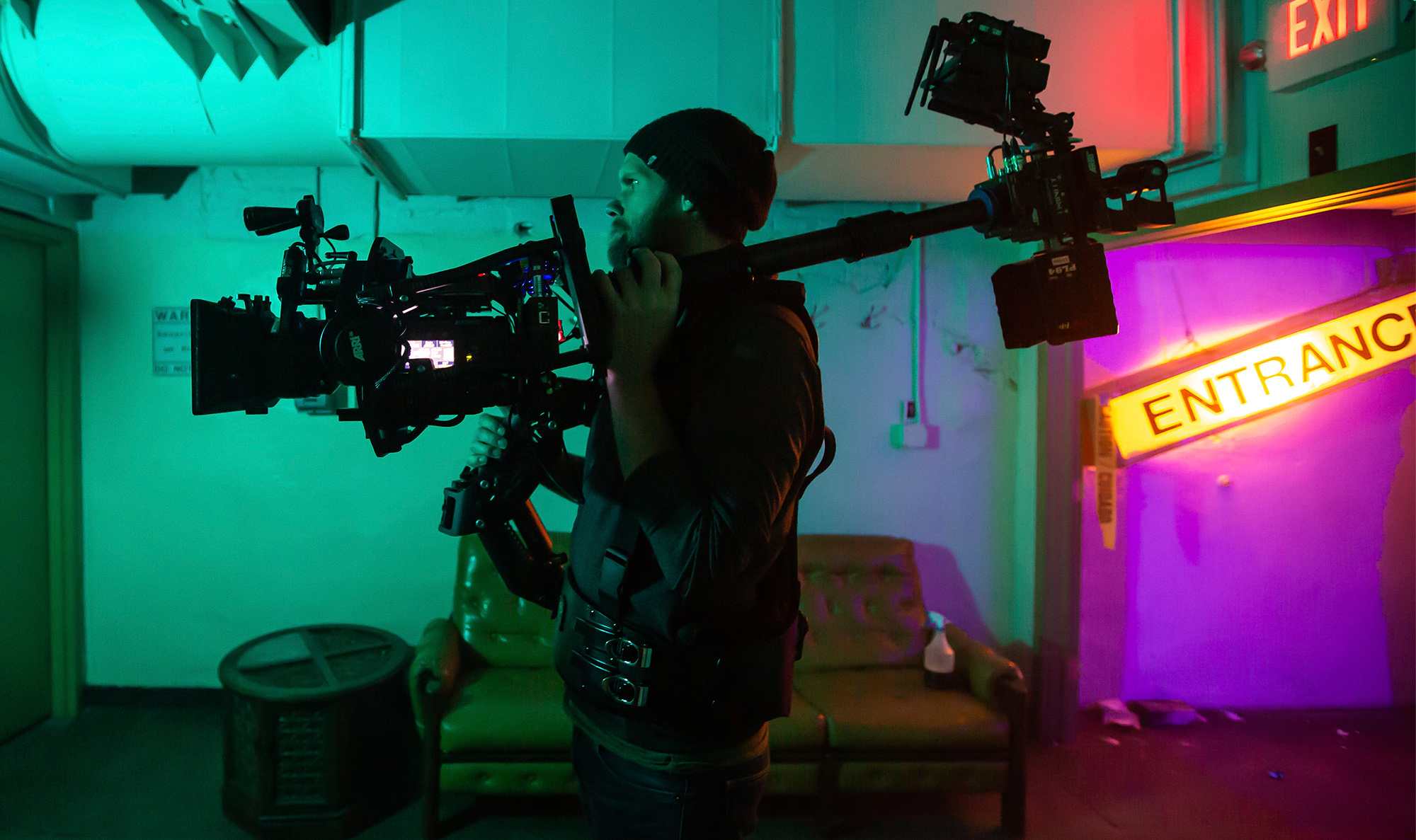 Andrew Theiss Operates the ARRI Trinity