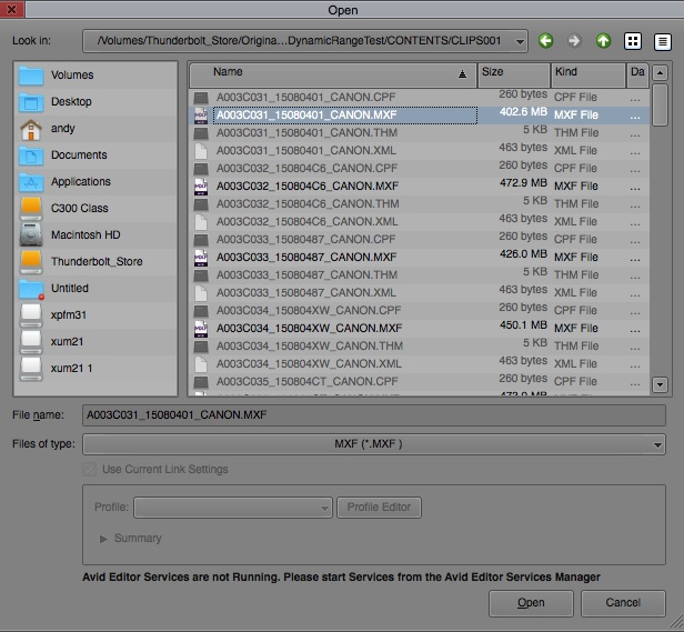 How to Import C300 Mark II Footage in Avid, FCP X, Premiere
