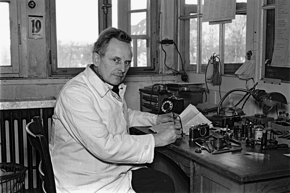 Oskar Barnack, inventor of the Leica