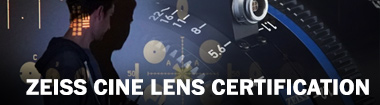 Live Stream: Zeiss Cine Lens Certification
