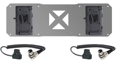 SHAPE Dual V-Mount Battery Plate with Cables for ATOMOS Sumo