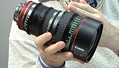 Intro image for article At the Bench: Canon 15.5-47 T2.8 Cinema Zoom