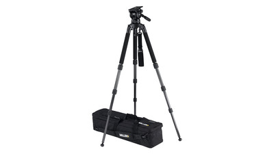 Miller Compass 25 Solo 3-Stage Carbon Fiber Tripod System - 100mm Ball