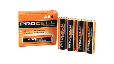 Duracell Procell AA 1.5V Alkaline Battery (4-Pack)