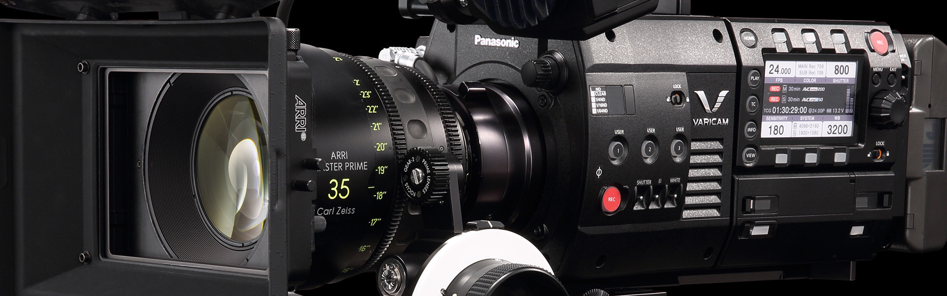 Header image for article VariCam 35 & HS Accessory Guide