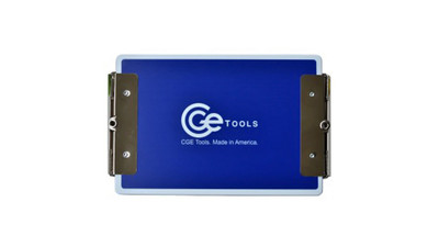 CGE Tools Double-Clip Clipboard - Blue