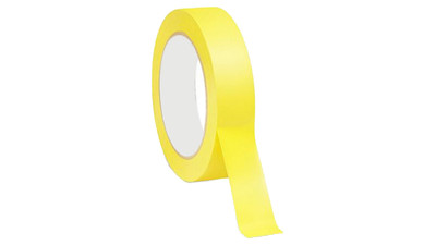"Paper Tape - 1"", Fluorescent Yellow"