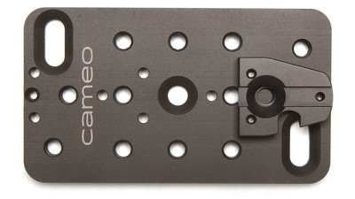 Cameo 2x4 V-Plate for Mounting Wireless Transmitters