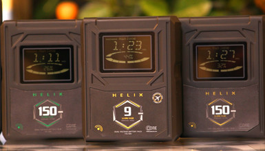 Intro image for article Pre-NAB First Look: Core SWX Helix Battery Line