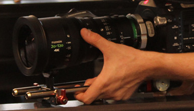 Intro image for article Behind the Lens: Fujinon Cabrio 20-120mm