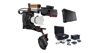 Canon EOS C300 Mk II Zacuto Z-Finder EVF Recoil V2 Kit with Atomos Shogun Inferno ProRes RAW Bundle & Accessory Kit - EF Mount