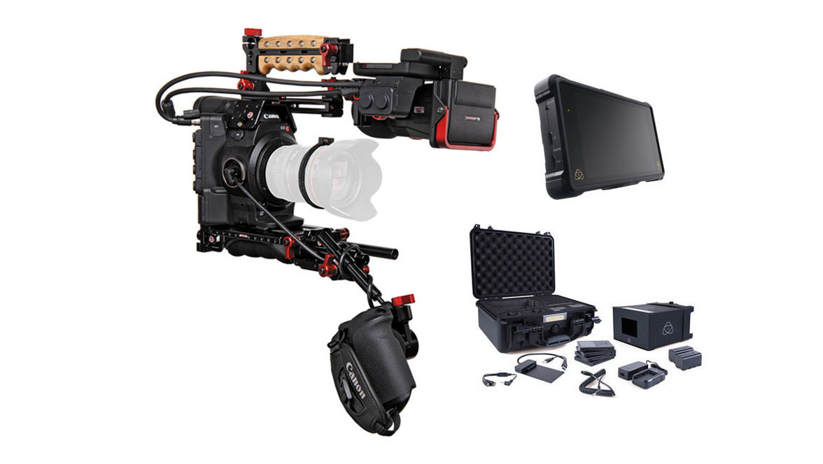 Canon EOS C300 Mk II Zacuto Z-Finder EVF Recoil V2 Kit with
