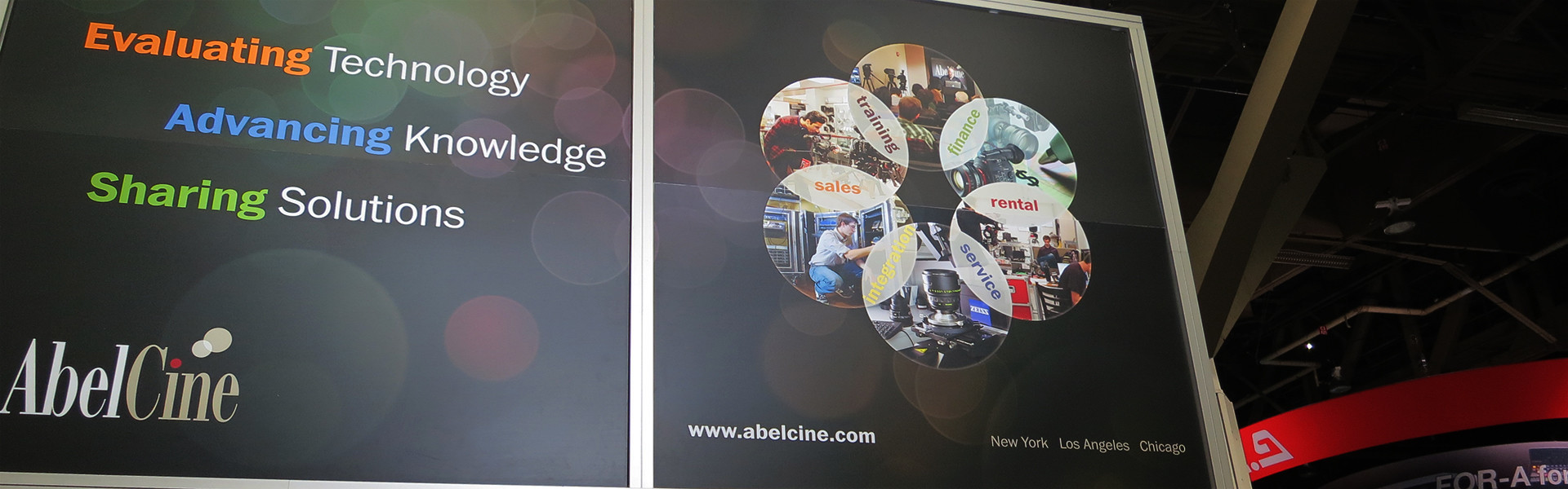 Header image for article NAB 2013: AbelCine & IB/E Optical Adapters