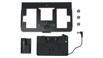 SmallHD Gold Mount Battery Plate with Mounting Bracket for 700 Series Monitor