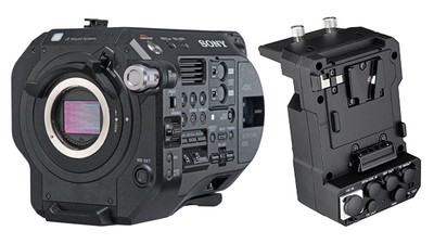 Sony PXW-FS7 Mark II 4K Camera Body with XDCA and CODEC Extension Unit Kit