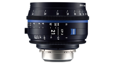 ZEISS CP.3 21mm Compact Prime T2.9 - Metric, EF Mount