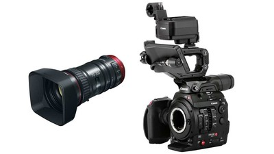 Canon C300 Mk II Touch Focus Kit + 70-200mm Zoom Bundle