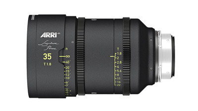 ARRI 35mm Signature Prime T1.8 - LPL Mount