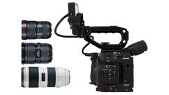 Canon EOS C200 Camera with Triple Lens Kit