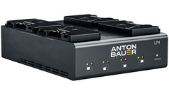 Anton Bauer LP4 Quad Gold Mount Charger