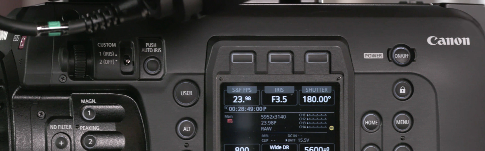Header image for article First Look: Canon C700 FF