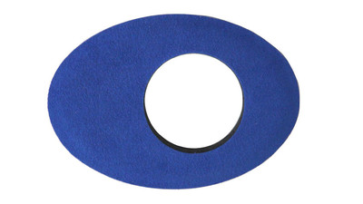 Bluestar Oval Large Microfiber Viewfinder Eyecushion - Blue