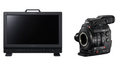 Canon Cinema EOS C300 MK II Camera and DP-V1710 UHD 4K Reference Display Bundle