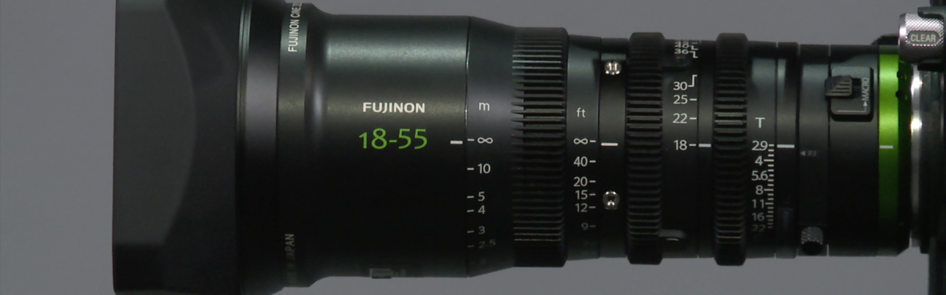 Header image for article First Look: Fujifilm MK Series Cinema Lenses