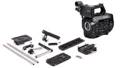 Sony FS7 Mk II 4K Camera Body with Wooden Camera Unified Pro Accessory Kit - Holiday Promo
