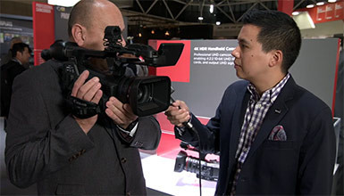 Intro image for article IBC 2018: Canon XF705