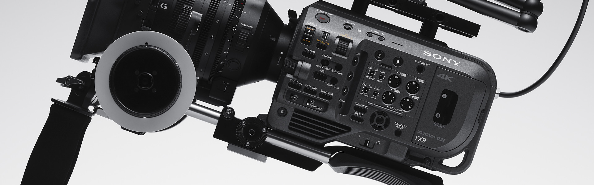 Header image for article First Look: Sony PXW-FX9 Camera