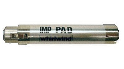 Whirlwind IMPAD10 Attenuator with 10dB Inline Barrel
