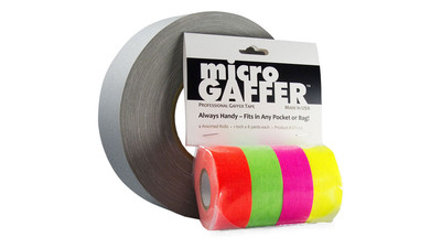 "Visual Departures microGAFFER Fluorescent Gaffer Tape - 1"" (4-Pack)"