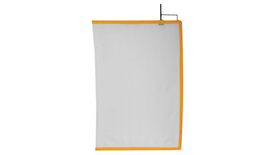 "Matthews 24x36"" Open End Frame Artificial Silk - White"