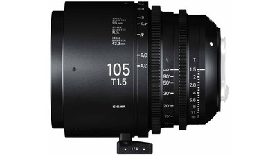 Sigma 105mm T1.5 FF High Speed Prime - Imperial, EF Mount