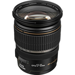 Canon EFS Ultrasonic Zoom Lens 17-55mm f2.8 w/ Front and Rear Caps