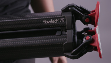 Intro image for article First Look: Sachtler flowtech 75 Tripod