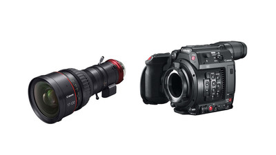 Canon C200 Camera with PL Mount & 17-120mm CINE-SERVO Zoom Kit