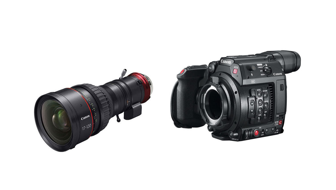 Canon C200 Camera with PL Mount & 17-120mm CINE