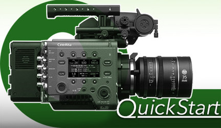 Quick Start for the Sony VENICE