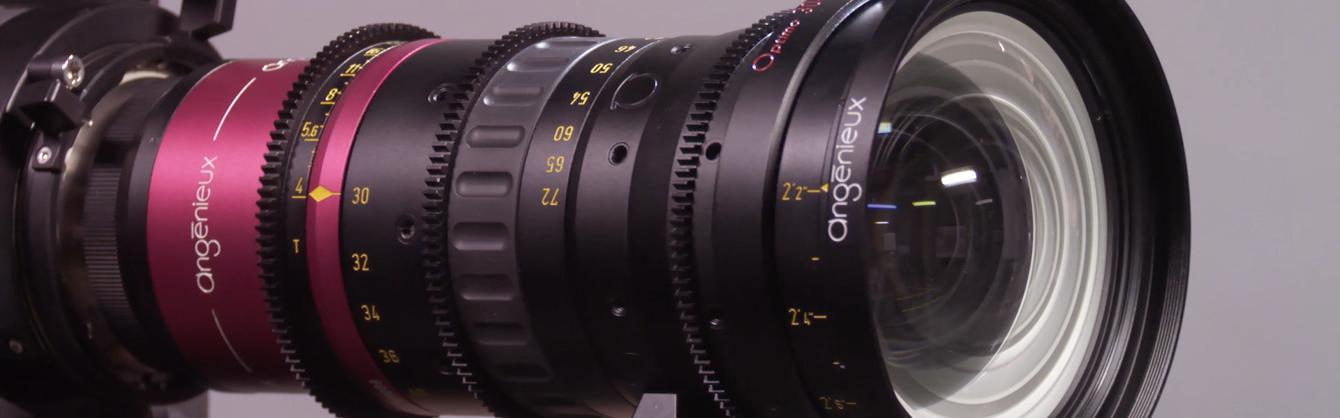 Header image for article At the Bench: Angenieux Optimo Anamorphic 30-72mm A2S Zoom
