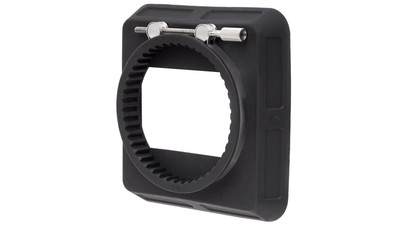 "Wooden Camera Zip Box - 4"" x 4"" (80-85mm Clamp-On Adapter)"