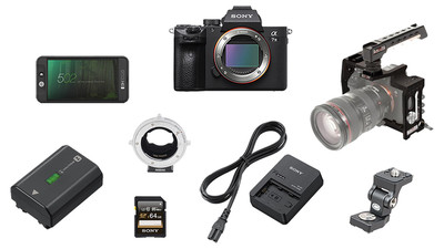 Sony Alpha a7 III Mirrorless Digital Camera SHAPE Cage Bundle - Basic