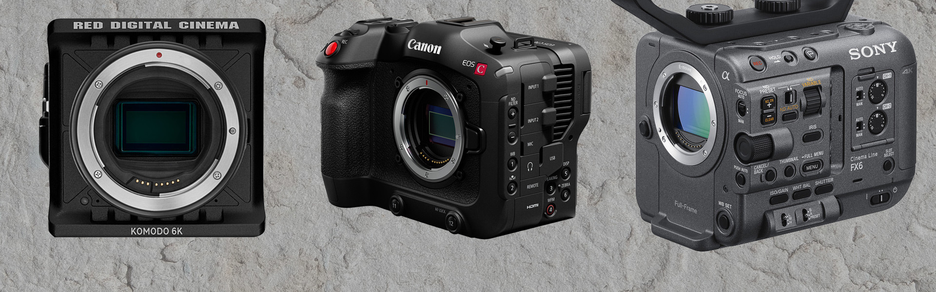 Header image for article Now Taking Orders on New Digital Cinema Cameras